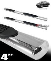 """For 2006-2014 Honda Ridgeline 4"""" Oval Chrome Side Step Nerf Bars Running Boards"""