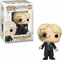 "HARRY POTTER DRACO MALFOY W/WHIP SPIDER 3.75"" POP VINYL FIGURE FUNKO 117"