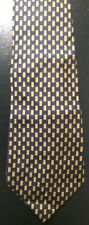Men's Polo by Ralph Lauren Anchor Blue & Gold Silk Neck tie made in USA