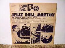 JELLY ROLL MORTON # 6, RARE NEAR MINT ORIGINAL RECORDING , 1920's