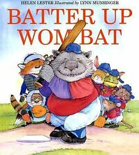 Batter Up Wombat-ExLibrary