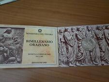 moneta l.500 -bimillenario oraziano