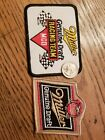 Miller Beer two MGD Racing patches including vintage CART/Alfa patch