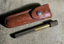 "vintage brass EZE LAP DIAMOND ""M"" KNIFE SHARPENER"