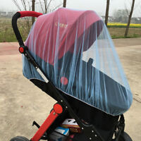 1PC Baby Buggy Pram Mosquito Cover Net Stroller Fly Insect Protector Cover Solid