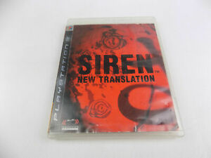 Mint Disc Playstation 3 Ps3 SIREN New Translation Free Postage