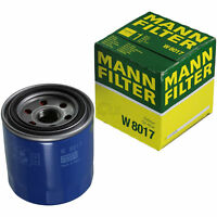 Original MANN-FILTER Ölfilter Oelfilter W 8017 Oil Filter