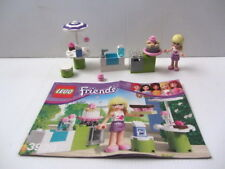 Lego FRIENDS Set 3930 - Stephanie's Outdoor Bakery - 100% Complete, No Box