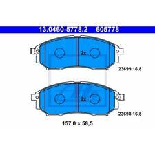 ATE Original Vorderachse Bremsbelagsatz Scheibenbremse Nissan Qashqai