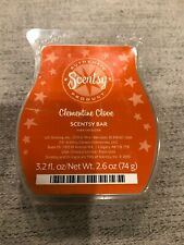 Scentsy Clementine Clove Wax Melts Discontinued Htf Scent