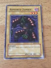 Armoured Zombie Yugioh Trading Card DB1-EN149