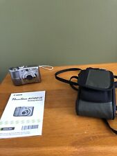 Canon PowerShot A1100 IS 12.1MP Point & Shoot Digital Camera PC1354 Used