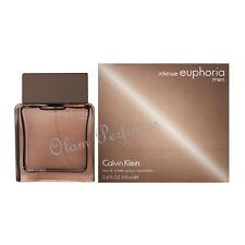 Calvin Klein Euphoria Intense For Men EDT 3.4oz 100ml * New * In Box Sealed *