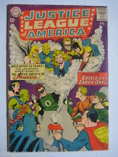 Vintage Old Collectible Justice League DC Comic Book 21 FN+