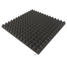 Akustikschaumstoff 4 x ca Noppenschaumstoff Pyramidenschaumstoff 50x50x3cm 1 m/² Weiss ca