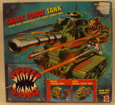 Street Sharks Shark Force Transforming Combat Tank Vehicle By Mattel (MISB)