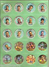 #T5.  33  DIFFERENT BRISBANE BRONCOS 1995  RUGBY LEAGUE TAZOS