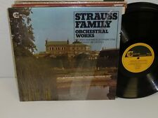 Sir John Barbirolli Strauss Family Orchestral Works Lp Pe Collector Gsgc15024 Nm