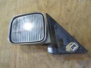 ISUZU TROOPER 1992-1997 ACURA SLX 1996-1997 POWER MIRROR DRIVER LH LEFT CHROME