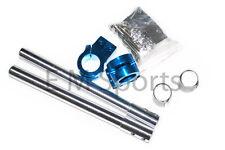 Mini Pocket Bike CNC Handle Bar Set 47cc 49cc Parts Blue