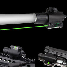Tactical Hunting Green Laser Sight Scope Q5 LED Flashlight Combo Picatinny Mount