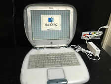 Apple iBook Clamshell G3 366Mhz Graphite/Ice Model M2453~FREE SHIP