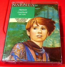 C.S.Lewis Prince Caspian 2-Tape Audio Book Michael Hordern Chronicles Of Narnia