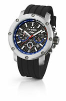 TW Steel TW924 Men's Yamaha Factory Chronograph 45mm Black Dial Rubber Watch