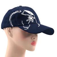 Embroidery Baseball Skulls Caps Men Women Adjustable Hip Hop Flat Brim Snapbacks