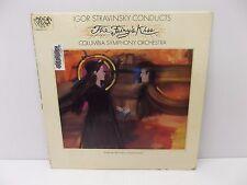"The Columbia Symphony Orchestra ""The Fariy's Kiss"" Igor Stravinski Vinyl LP"