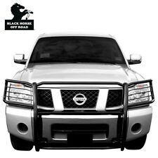 Black Horse Black Grille Brush Guard 17NR26MA [ For  2004-2015 Nissan Armada ]