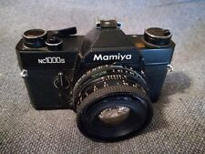 Mamiya NC100s vintage film SLR camera