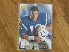 PEYTON MANNING ROOKIE CARD in 1998 Skybox Premium #231 Colts HOF
