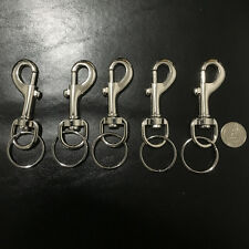 Keyring Metal Keychain Home Gift Wholesale 6pcs Fashion Metal Car Key Chain Ring