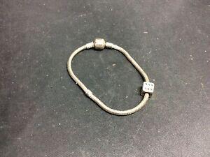 Pandora 925 Bracelet with 925 ALE Die Charm (#Y58)