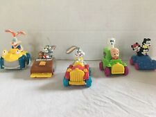Lots Of Five Looney Tunes Happy Meals Early 90S Rare Roger rabbit Bugs Bunny