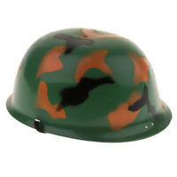 Army Men's Army Camouflage Helmet Role Play Costume for Kids Boys and Girls