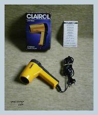 Clairol Compact Turbo Hair Dryer NIB Unique VTG 1980 Retro New in the box