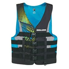 SEA-DOO MEN'S MOTION LIFE JACKET P/N 2858761476 2XL AQUA