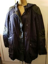 BNWT Warehouse Parka Size 14 Stunning faux leather trim RRP 95.00