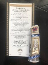 Franklin Mint Civil War Knife Knives Robert E Lee