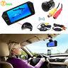 "7"" HD Bluetooth MP5 Car Rearview Mirror Monitor + Wireless Reverse Backup Camera"