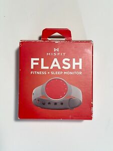 MISFIT FLASH Fitness + Sleep Monitor  Wearable Fitness Gear Red.