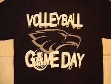 "Allen High School Volleyball Game Day ""Rise to the Occasion"" Navy T Shirt M"