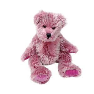 Another Korimco Friend Teddy Bear Plush Soft Stuffed Toy Pink Bow Washed 31cm