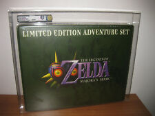 Zelda Majoras Mask Adventure Set VGA 85+ - Nintendo 64 N64 Big Box Majora SEALED