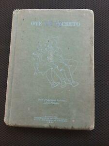 Oye Un Secreto 3ra Ed Puerto Rico 1959 HC #1671