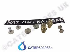 022586 BLUE SEAL GT46 GAS FRYER LPG GAS TO NAT CONVERSION KIT VEE RAY GT45