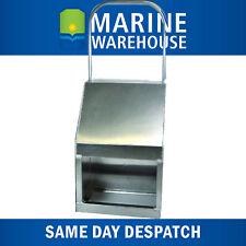 Aluminium Boat Centre Console 1/2 Single W/ Rail  1000mm X 400mm X 300mm 407167R