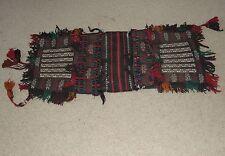 Afghanistan Persian Horse Comel Back Saddle Grain Bag Rug Carpet Kuchi Turkoman